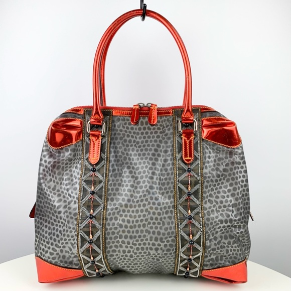 FENDI Very Rare Beaded Satchel